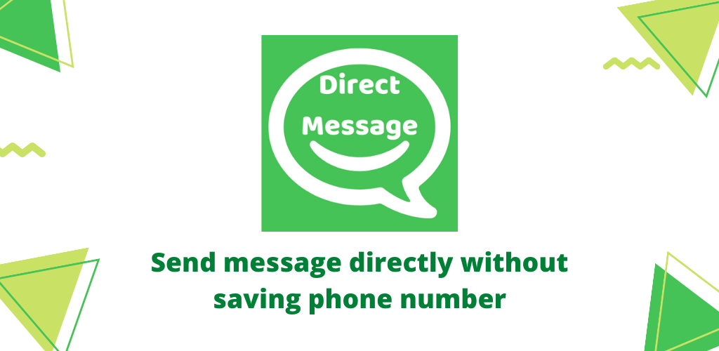 Direct Message to WhatsApp number Android app